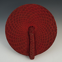 Woman's Hat (Isicholo), Zulu People, South Africa
