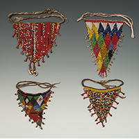 Beaded cache-sexe, Mandara Mountains, Cameroon
