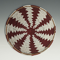 Beer Pot Cover (Imbengi), Zulu People, South Africa