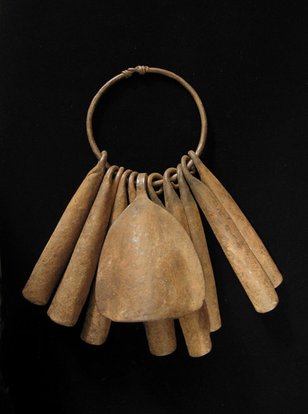 African Tribal Art - Iron gong currency, Yoruba