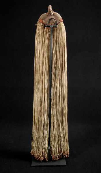 African Tribal Art - String cache-sex, Kirdi, Cameroon, back view