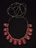 African Tribal Art - Prayer necklace, Fulani, Nigeria