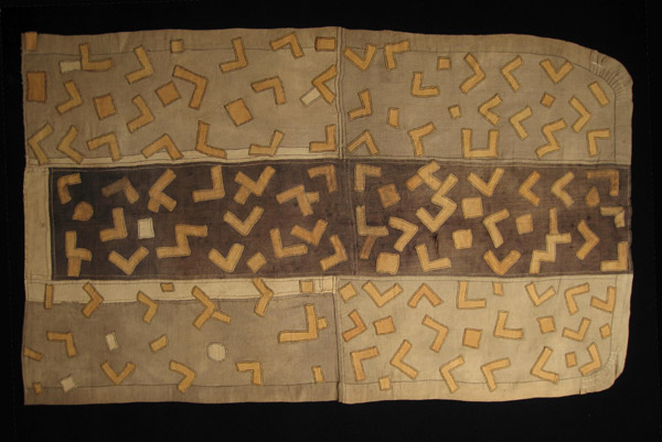 African Tribal Art - Dance skirt panels, Kuba, D.R.Congo