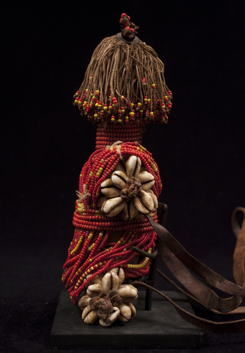 African Tribal Art - Fertility Doll, Fali, Cameroon, right side