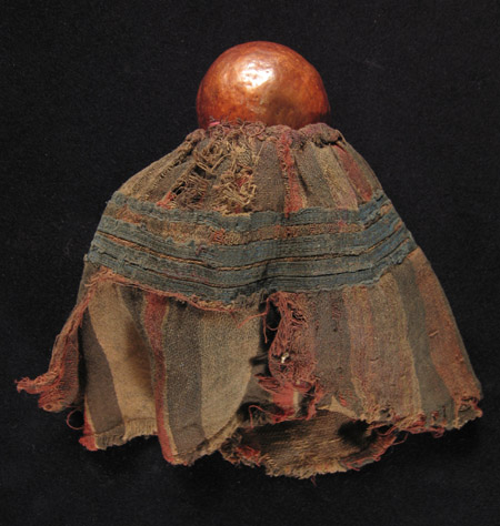 African Tribal Art - Gourd doll, Ambo people, Angola, back