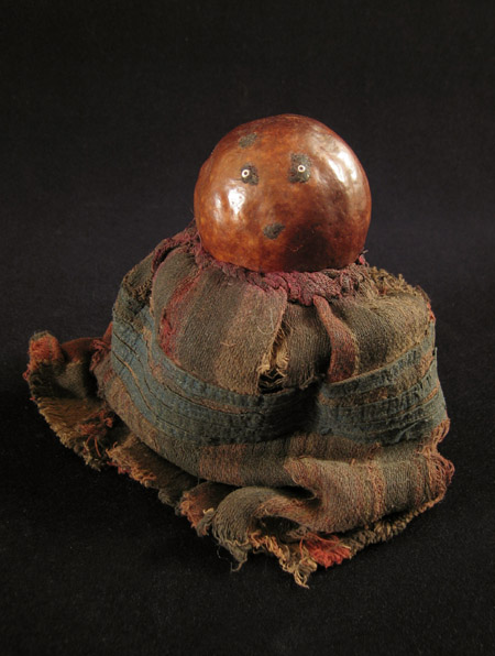 African Tribal Art - Gourd doll, Ambo people, Angola