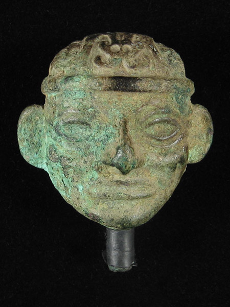 Art of the Americas - Copper head, Moche, Peru