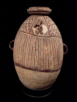 Art of the Americas - Large ceramic vessel, Chancay culture, Peru