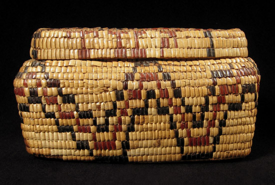 Art of the Americas - Imbricated basket, Columbia River