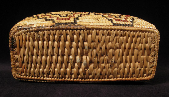 Art of the Americas - Imbricated basket, Columbia River, bottom