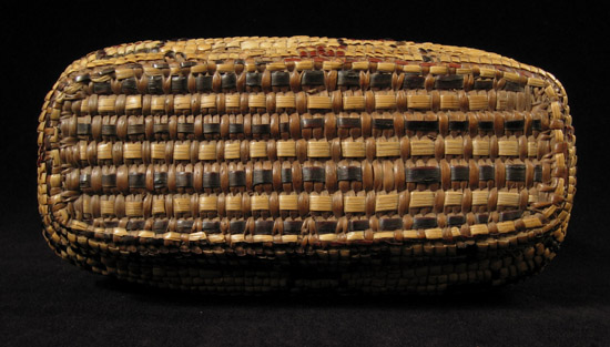 Art of the Americas - Imbricated basket, Columbia River, top
