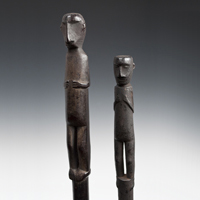 Shaman's Staffs, Choco People, Panama