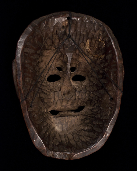 Dance Mask, Guatemala, back view
