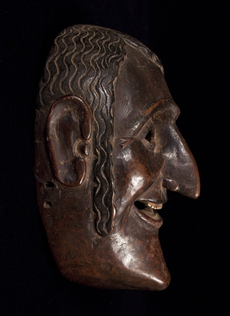 Dance Mask, Guatemala, left side view