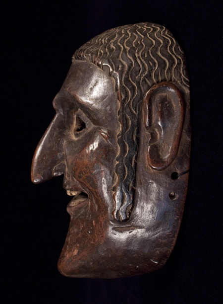 Dance Mask, Guatemala, right side view