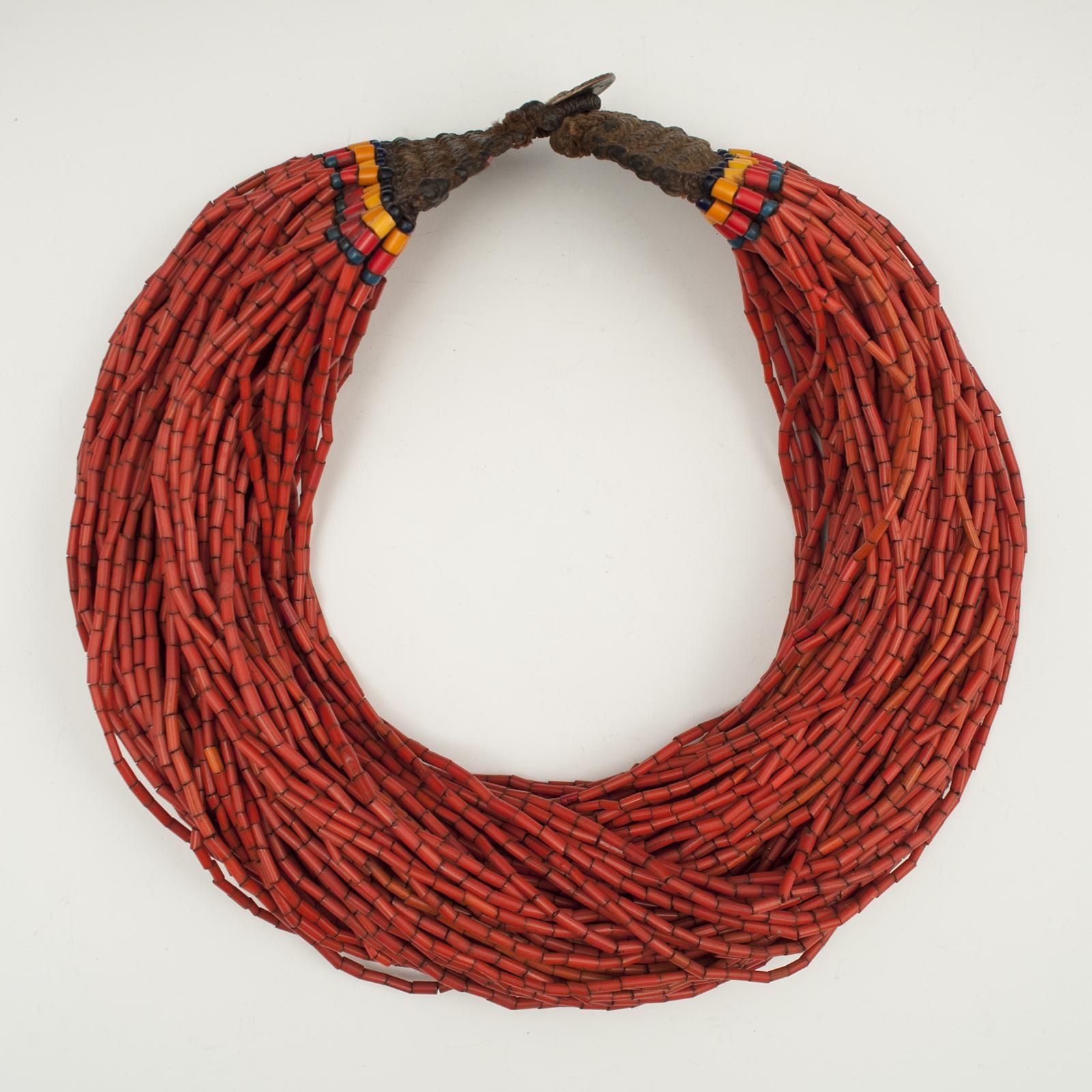 Asian Tribal Art - Necklace, Naga People, Northeastern India