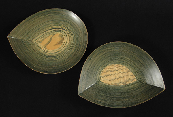 Asian Tribal Art - Bentwood plates, Japan