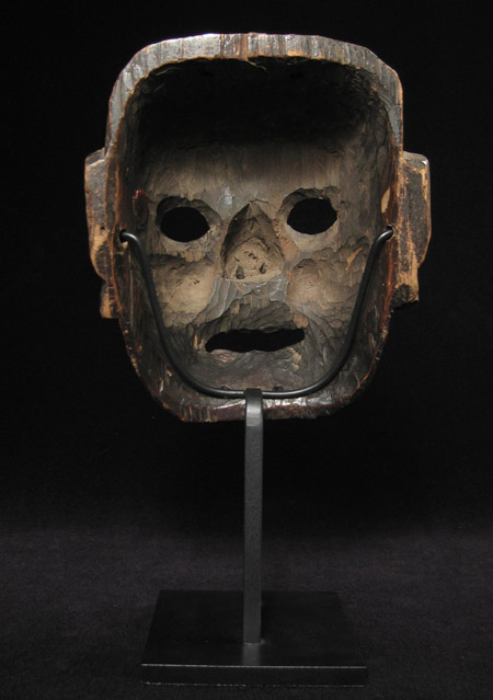 Mask, Nepal, back view