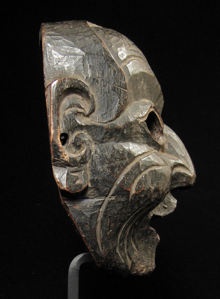 Mask, Nepal, left side view