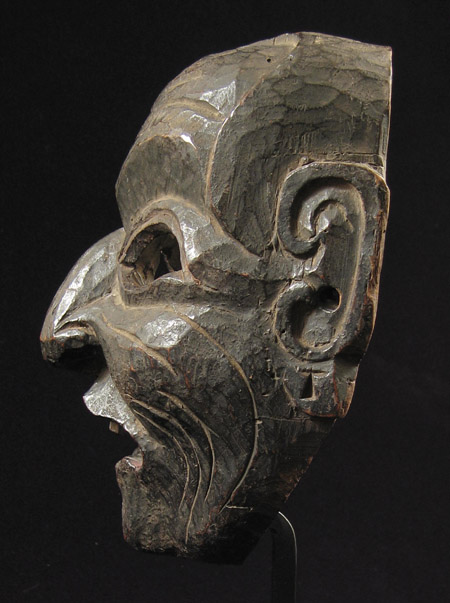 Mask, Nepal, right side view