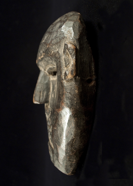 Mask, Middle Hills, Nepal - right side view
