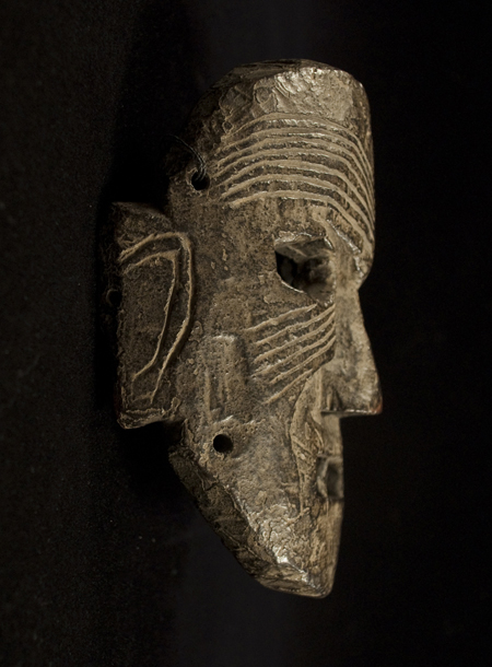 Mask, Middle Hills, Nepal - left side view
