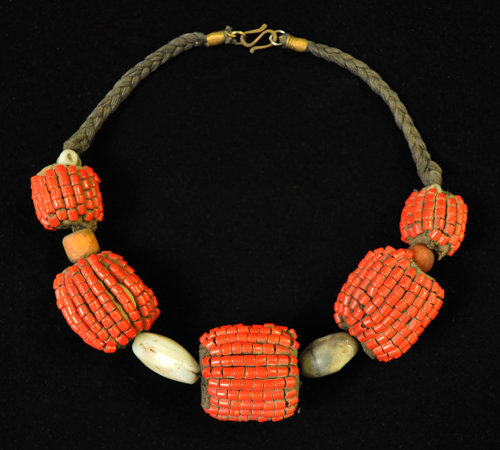 Swat Valley necklace, reverse