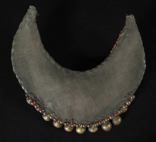 Asian Tribal Art - Beaded pectoral, Nagaland, India, back