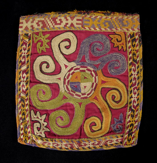 Asian Tribal Art - Embroidered bag, Uzbek, Central Asia