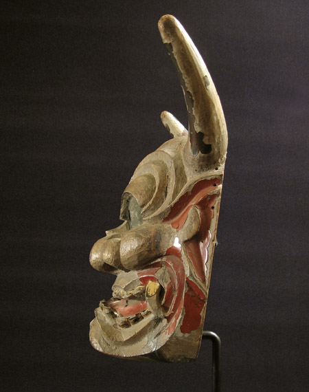 Asian Tribal Art - Hanya mask, Japan, right