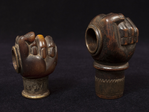 Opium pipe bowls, Yunnan Province, Southwest China