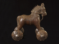 Asian Art - Bronze Toy Horse, India