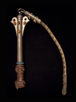 Asian Tribal Art - Quirt, Yamut, Turkoman, Central Asia