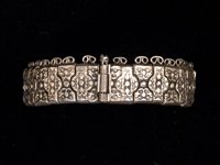 Central Asia - Silver bracelet, Armenia or Russia