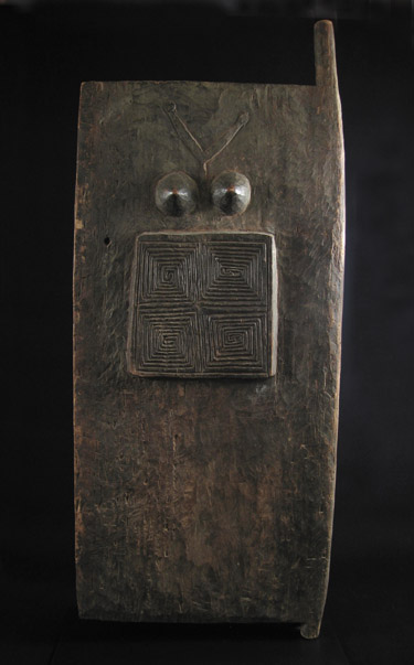 Indonesian Tribal Art - Wood house door, Timor Island, Indonesia