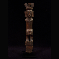 Indonesian Tribal Art - Hazi Nuwou Figure, Nias or Batu Island