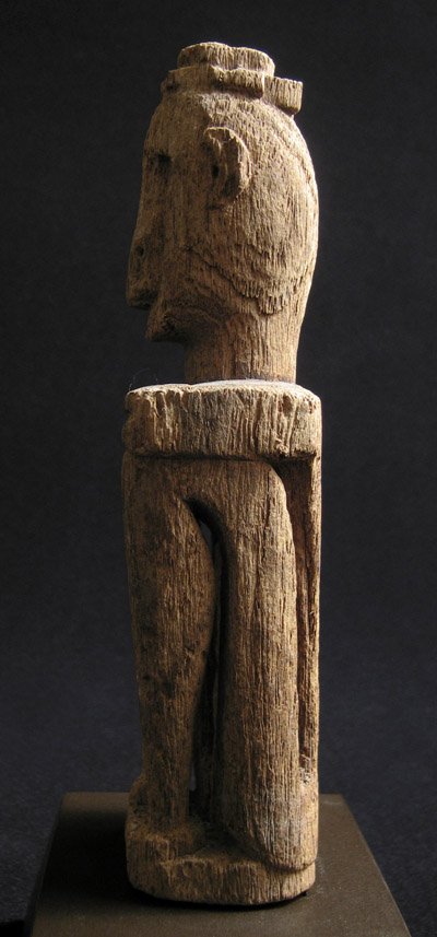 Indonesian Tribal Art - Ancestor figure, Leti Islands, Southeast Moluccas, Indonesia, right side