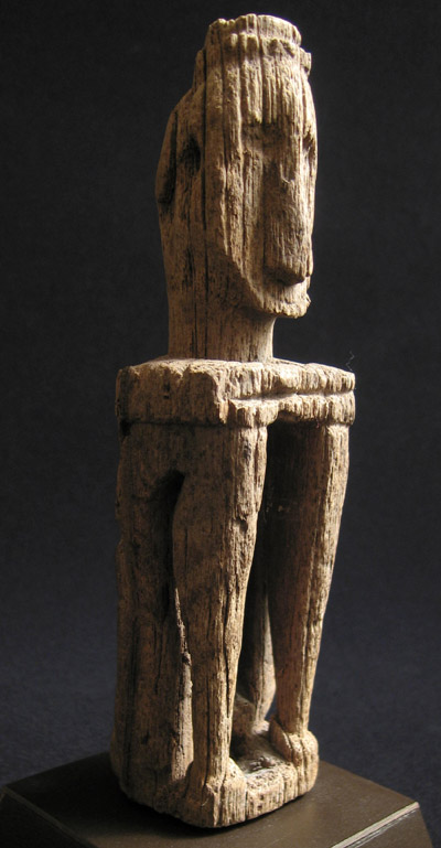 Indonesian Tribal Art - Ancestor figure, Leti Islands, Southeast Moluccas, Indonesia, view two