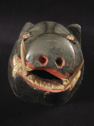 Indonesian Tribal Art - Boar mask, Indonesia, snout