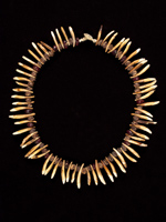 Dog Tooth Necklace, Aitape, Papua New Guinea