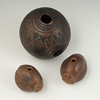 Coconut whistles, Papua New Guinea