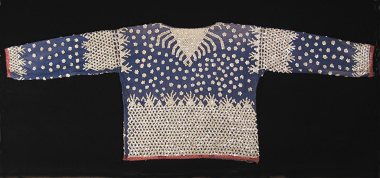 Oceanic Art - Albong blouse, Bila'an, Southern Mindanao, Philippines, back