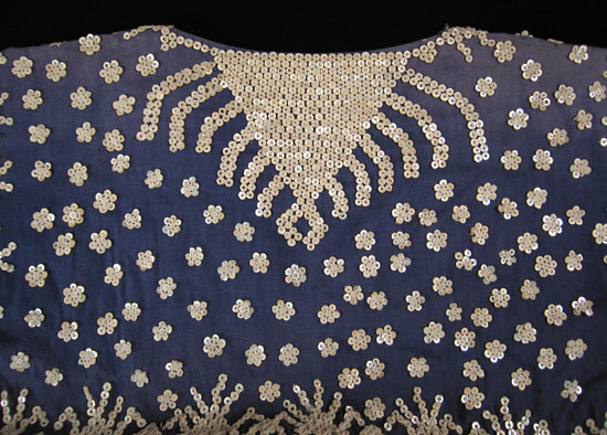 Oceanic Art - Albong blouse, Bila'an, Southern Mindanao, Philippines, back detail