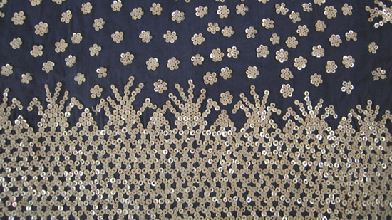 Oceanic Art - Albong blouse, Bila'an, Southern Mindanao, Philippines, lower back detail