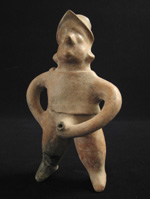 Pre-Columbian Art - Colima shaman vessel, West Mexico