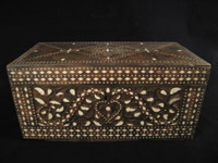 Designer Gallery - Bone inlay wood box, South Philippines