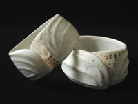 Indonesian Tribal Art - Conus shell bracelets, Sarawak, North Borneo, Indonesia $675 each