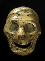 Asian Tribal Art - Brass cittipati, Tibet