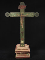 Art of the Americas - Wood cross, Merida, Yucatan, Mexico
