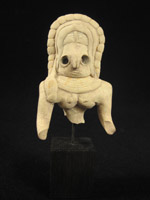 Asian Tribal Art - Fertility idol, Indus Valley